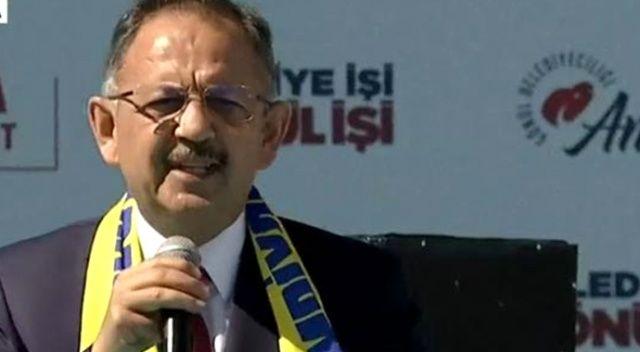 Mehmet Özhaseki'den Ankara mitinginde önemli açıklamalar