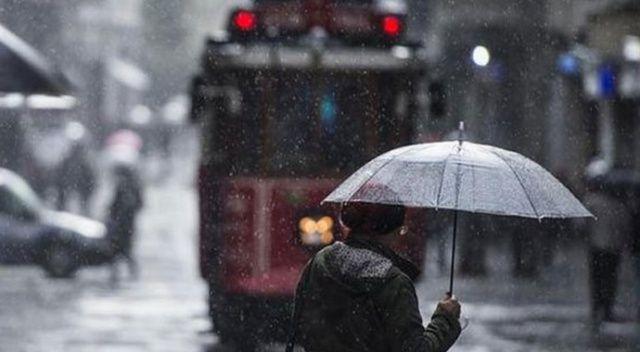 Meteoroloji'den son dakika sağanak uyarısı! İstanbul'da ve yurtta hava durumu (12 Mart 2019 hava durumu)