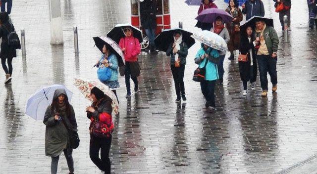 Meteoroloji'den ülke geneline yağış uyarısı