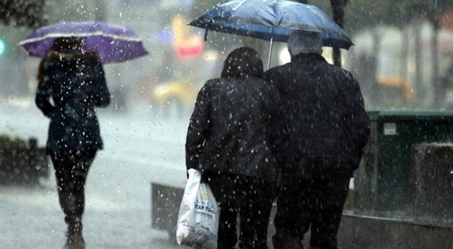 Meteoroloji uyardı! Sağanak yağış geliyor (15 Mart 2019 hava durumu)