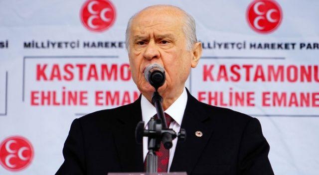 MHP lideri Bahçeli: CHP, FETÖ'nün vagonu olmuştur