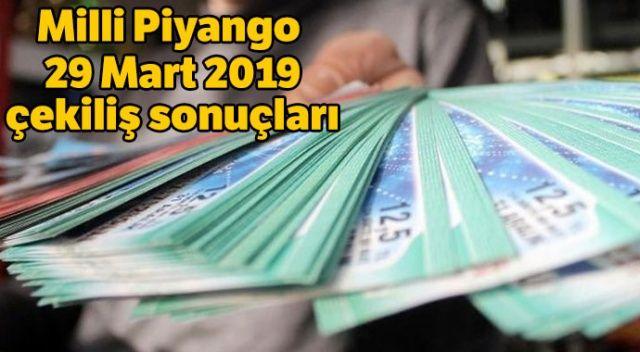 Milli Piyango 29 Mart 2019 sonuç sorgulama | 29 Mart Milli Piyango çekiliş sonuçları