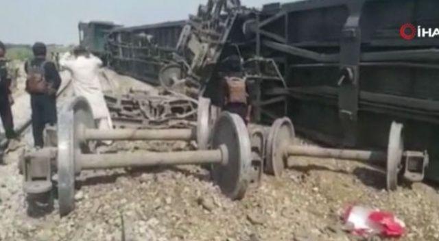 Pakistan'da trene bombalı saldırı: 4 ölü, 6 yaralı