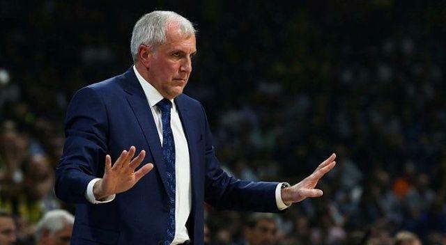 Zeljko Obradovic: 'Son çeyrekteki reaksiyonumuzdan memnunum'