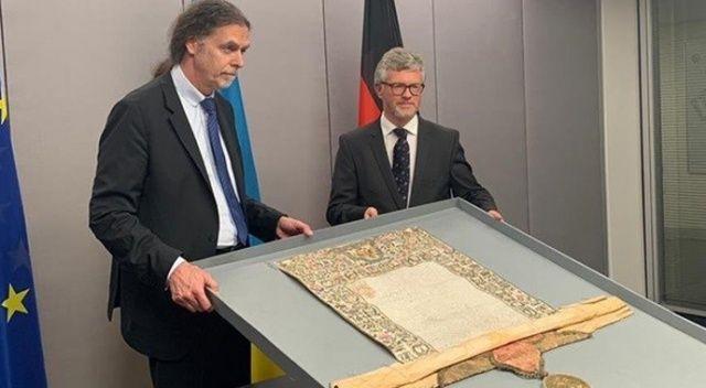 Almanya, Rus Çarı'nın tarihi mektubunu Ukrayna'ya teslim etti