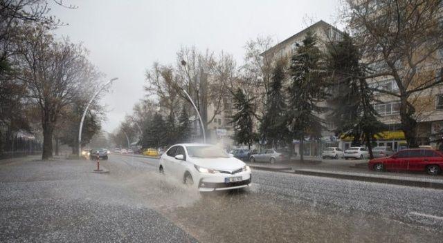 Ankara ve Kırıkkale için yağış uyarısı