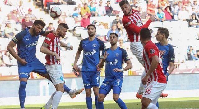 Antalyaspor, Kasımpaşa'yı tek golle devirdi