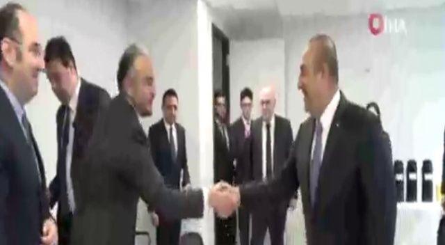 Bakan Çavuşoğlu, Türk Amerikan toplumunun önde gelenlerini kabul etti
