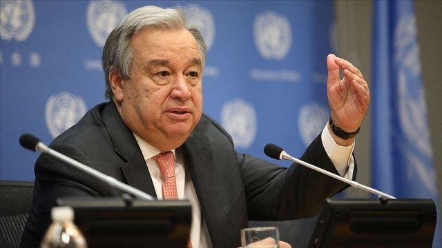 BM Genel Sekreteri Antonio Guterres Kıbrıs raporunu sundu