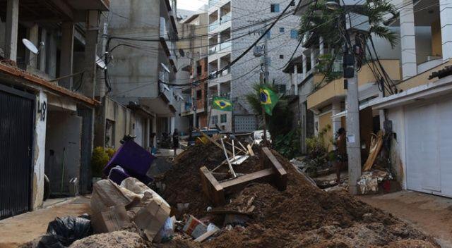 Brezilya'da çöken 2 binada ölü sayısı 5'e çıktı