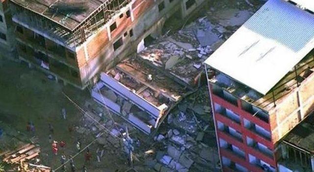 Brezilya'da yıkılan 2 binada ölenlerin sayısı 11'e çıktı