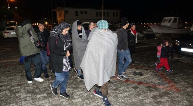 Çanakkale'de 41 mülteci yakalandı