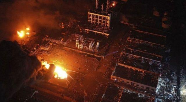 Çin'de kimya tesisinde patlama: 4 ölü