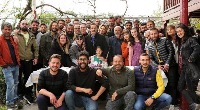 Dizi setinde Ufuk Özkan'a doğum günü sürprizi