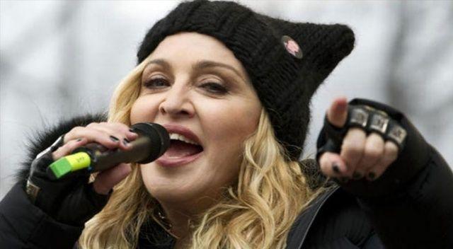 Dünyanın boykot ettiği yarışmada Madonna konseri