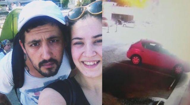 Eşini vurup hastane önüne bıraktı