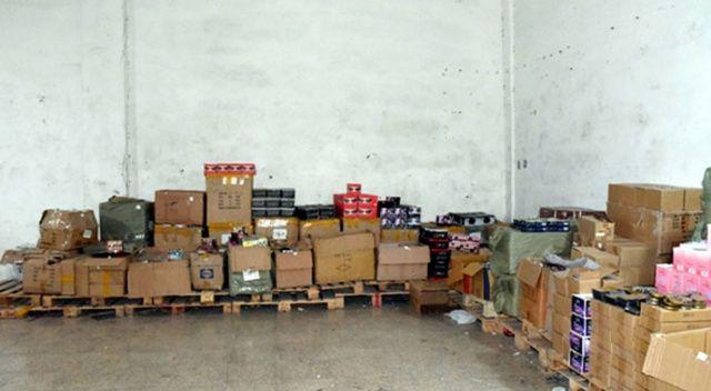 Gaziantep'te 176 bin kaçak kozmetik ürünü ele geçirildi