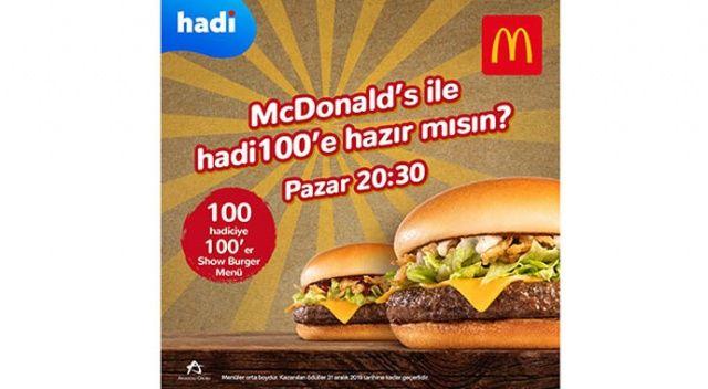 Hadi'den hamburger severlere özel yarışma