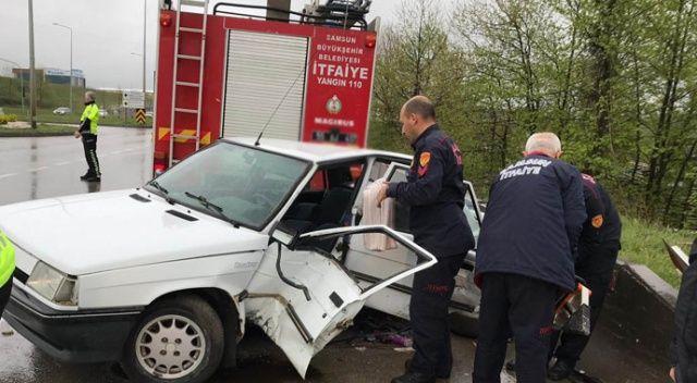 Hastane yolunda kaza: 4 yaralı