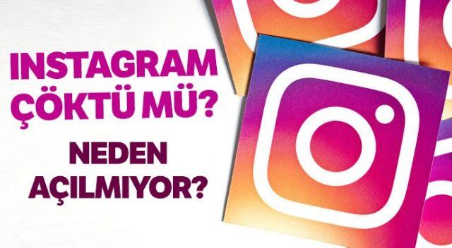 Instagram Çöktü Mü? Instagram neden açılmıyor? ( Intagram neden yenilenmiyor?)