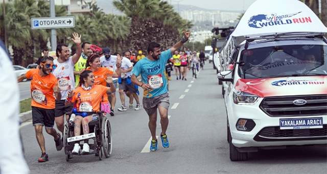 İpek Soylu'dan Wings for Life World Run'a destek