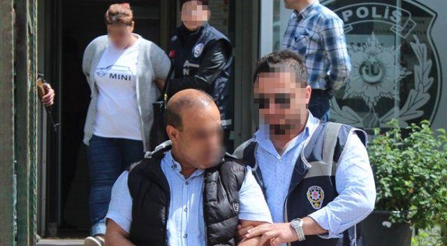 İranlı yankesiciler polisten kaçamadı