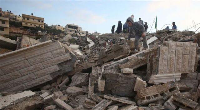 İsrail askerleri Salih el-Bergusi'nin evini yıktı