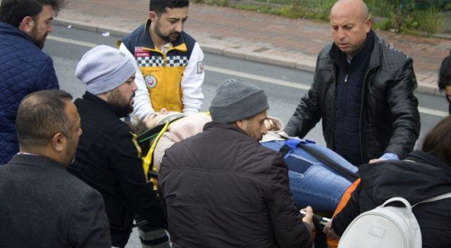 İstanbul'da genç kıza çarpan taksici başından bir an olsun ayrılmadı