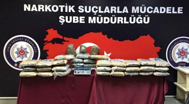 İstanbul-İzmir uyuşturucu hattına 3 sanığa hapis cezası