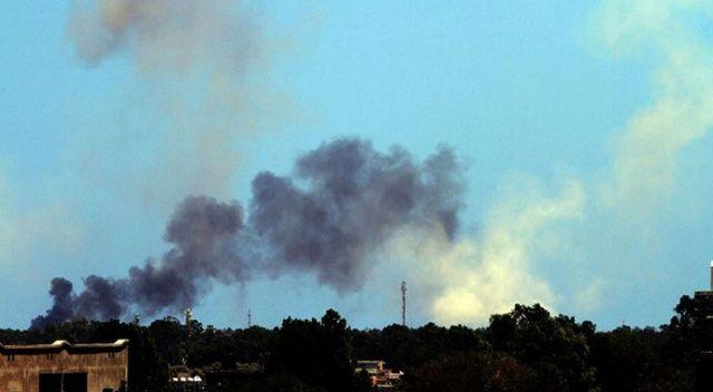 Libya'da UMH'den Hafter güçlerinin karargahına hava saldırısı