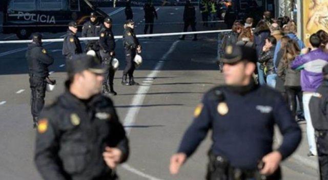 Madrid'de diplomatik temsilciliklerin bulunduğu bir gökdelenin bomba alarmı