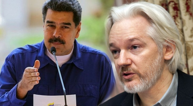 Maduro: 'Assange, ABD'ye iade edilirse hayatı tehlikeye girer'