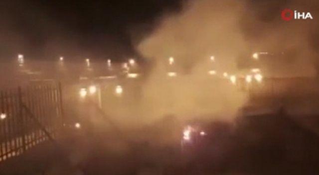 Mescid-i Aksa'da çıkan yangın kontrol altına alındı