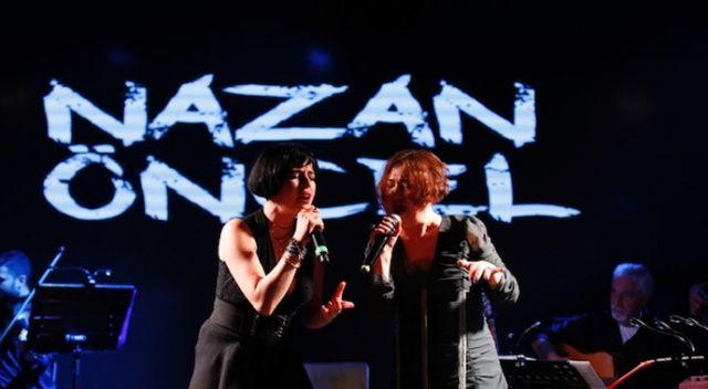 Nazan Öncel Gonca Vuslateri ile düet yaptı