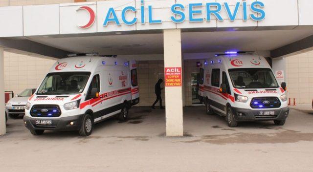 Niğde'de bin 300 kişi hastanelere akın etti