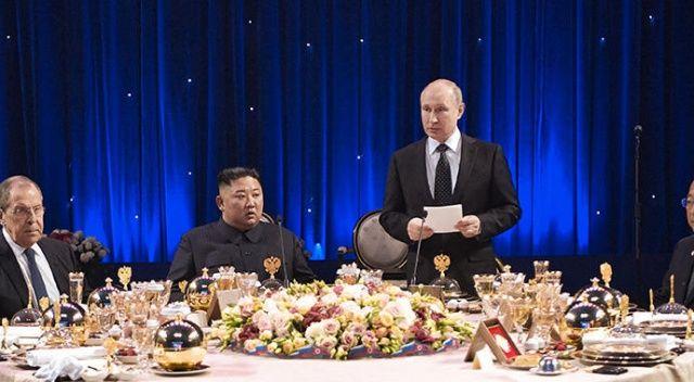 Putin ve Kim Jong-un görüşmesi sona erdi