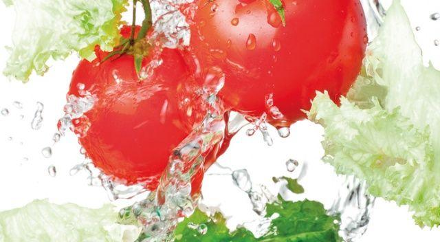 Sebzeleri sirkeli suda yıkamayın