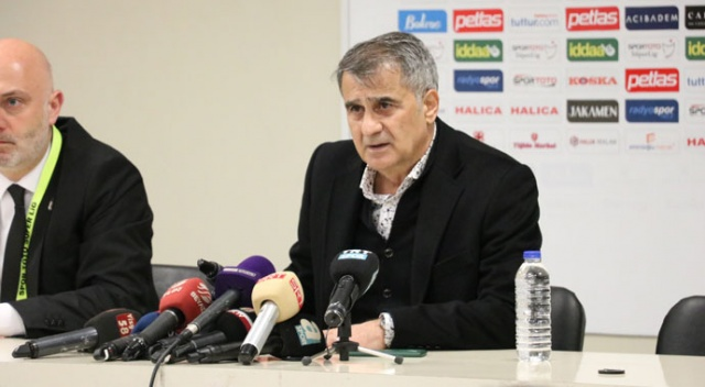 Şenol Güneş: Beşiktaş'ı zirvede bırakmak istiyorum