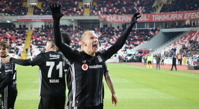 Burak Yılmaz attı, Beşiktaş kazandı! (Sivasspor 1-2 Beşiktaş)