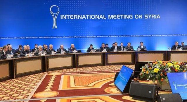 Suriye konulu 12. toplantı Nur Sultan'da düzenlenecek