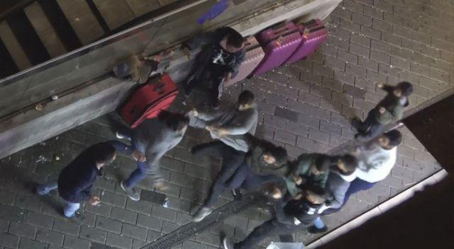 Taksim'de 'meydan kavgası'