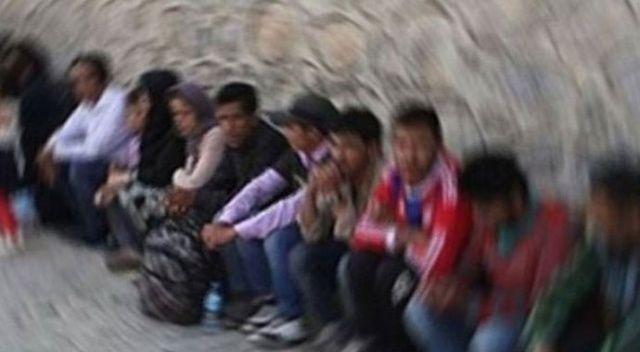 Tekirdağ'da 21 düzensiz göçmen yakalandı