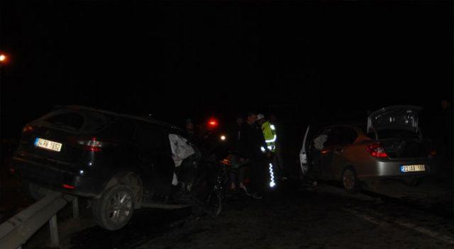 Tekirdağ'da iki ayrı kaza: 1 ölü, 5 yaralı