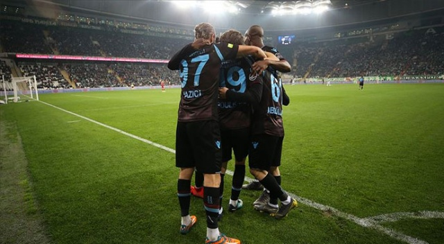 Trabzonspor ikinci yarıda deplasman başarısını artırdı