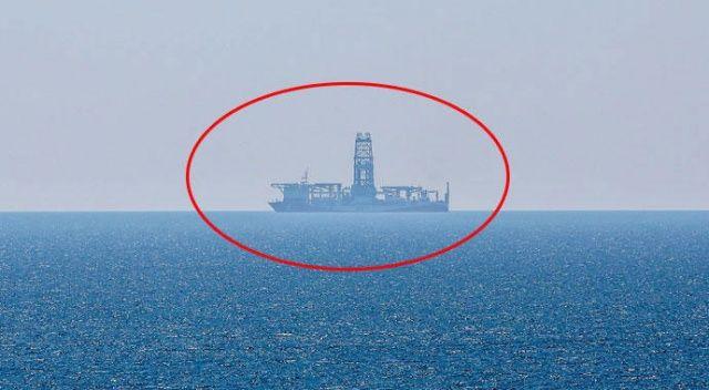 Türkiye'nin ilk sondaj gemisi 5 ay sonra yeniden Antalya açıklarında