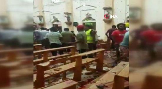 Sri Lanka'da kilise ve otellere eş zamanlı patlamalar: Çok sayıda ölü ve yaralı var
