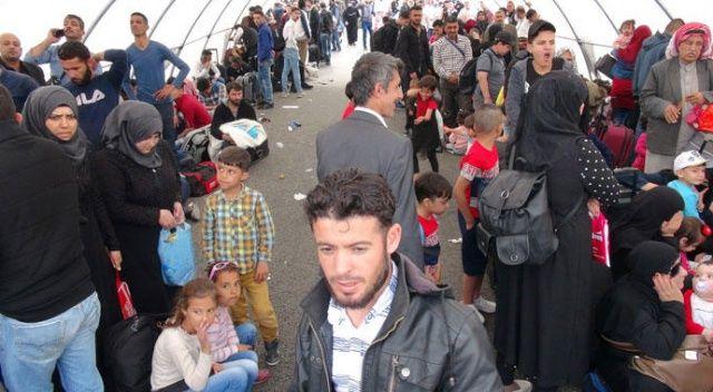 4 günde 3 bin Suriyeli ülkesine gitti