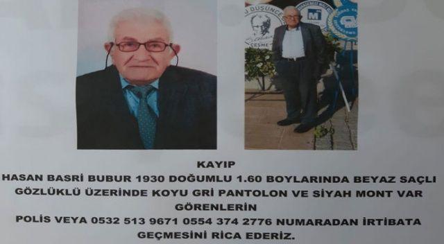90 yaşındaki Hasan amcadan hala haber yok