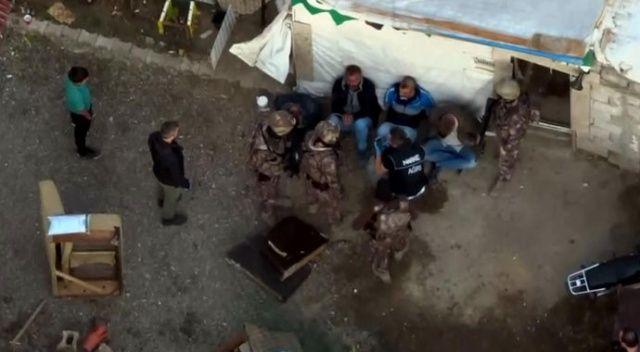 Ağrı'da uyuşturucu operasyonu! 21 kişiden 18'i tutuklandı