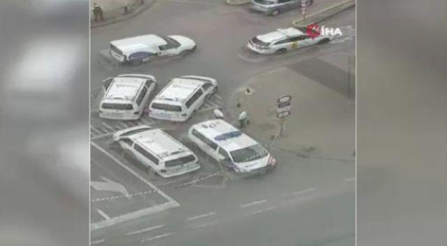 Brüksel'de bomba ihbarı